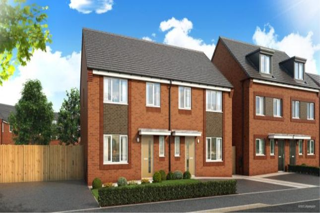 Thumbnail Semi-detached house for sale in Mill Brow, Central Avenue, Liverpool