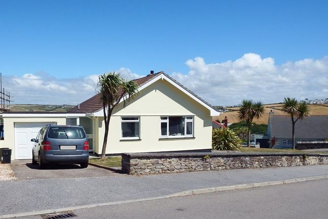 Thumbnail Detached bungalow for sale in Tredinnick Way, Perranporth