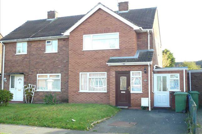 Thumbnail Semi-detached house for sale in Pritchard Avenue, Wednesfield, Wednesfield