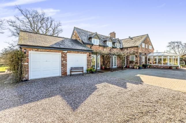 Thumbnail Detached house for sale in Combermere, Whitchurch, Cheshire
