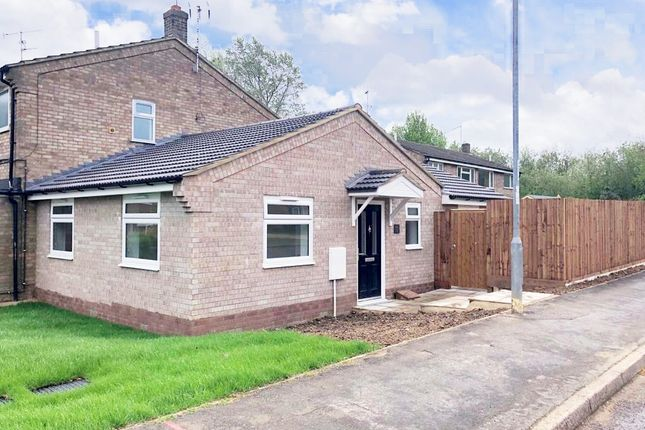 Thumbnail Terraced bungalow for sale in Mere View, Yaxley, Peterborough