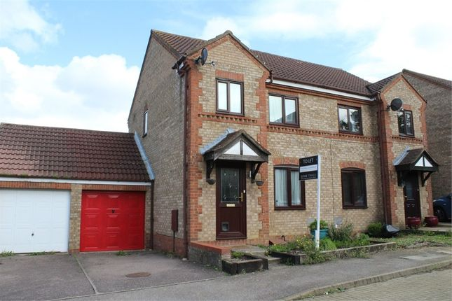 Thumbnail Semi-detached house to rent in Goathland Croft, Emerson Valley, Milton Keynes, Buckinghamshire