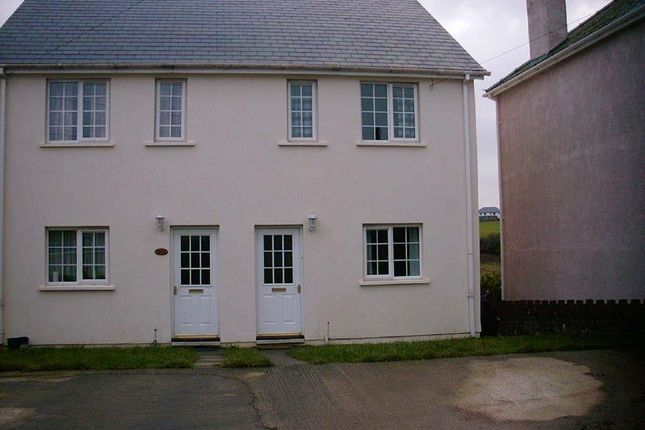 Thumbnail Semi-detached house to rent in City Road, Haverfordwest