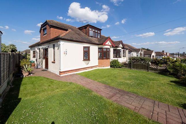 Thumbnail Semi-detached bungalow for sale in Mashiters Hill, Rise Park, Romford