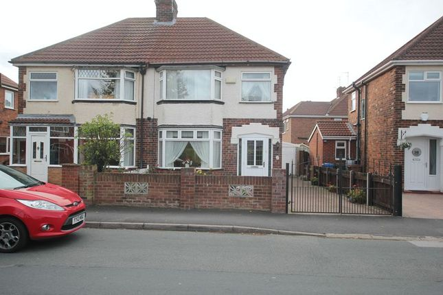 Thumbnail Semi-detached house to rent in Sheriff Highway, Hedon, Hull