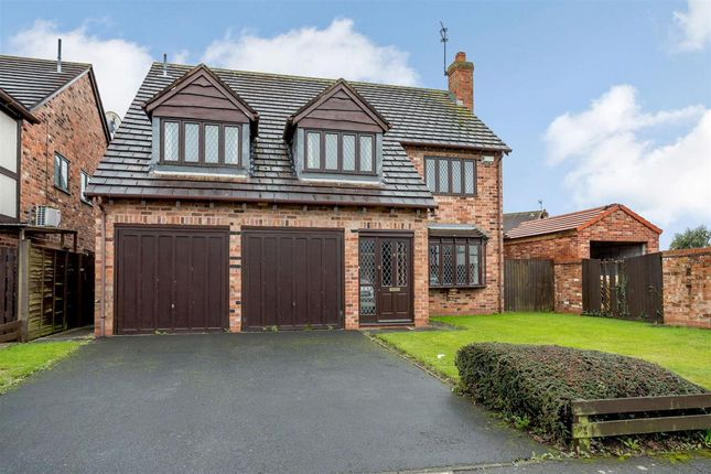 Thumbnail Detached house for sale in Iona Road, Syston, Leicester