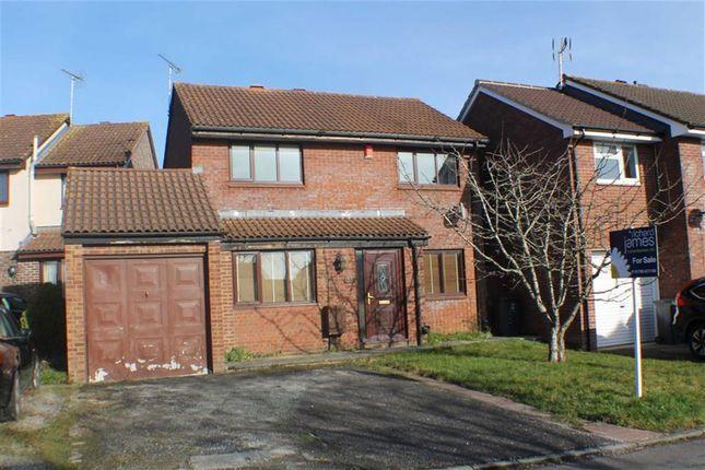 Thumbnail Detached house for sale in Bosworth Road, Grange Park, Swindon