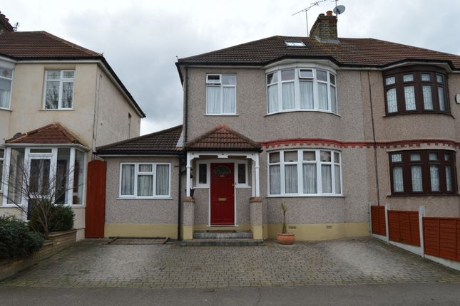 Thumbnail Semi-detached house for sale in Lyndhurst Drive, Hornchurch