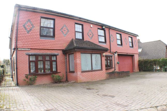 Thumbnail Detached house for sale in Walpole Lane, Swanwick, Southampton