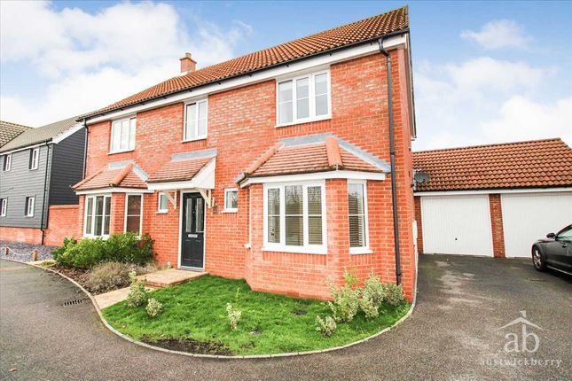 Thumbnail Detached house to rent in Hares Close, Kesgrave, Ipswich