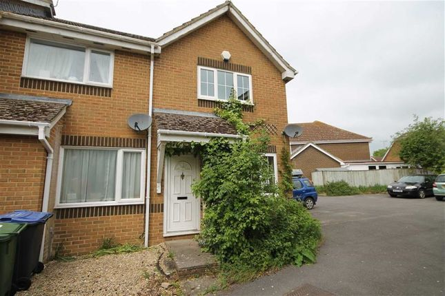 Thumbnail End terrace house for sale in Sycamore Close, Lyneham, Wiltshire