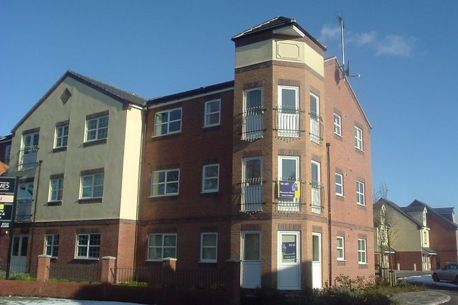 Thumbnail Flat to rent in Manorhouse Close, Walsall