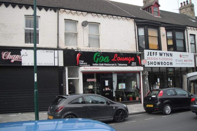 Thumbnail Office for sale in 52/52B Station Road, Redcar