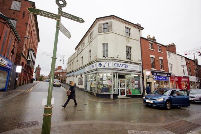 Thumbnail Commercial property for sale in Full Building, 35 Derby Street, Leek, Staffordshire