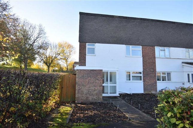 Thumbnail End terrace house for sale in Little Cattins, Harlow, Essex