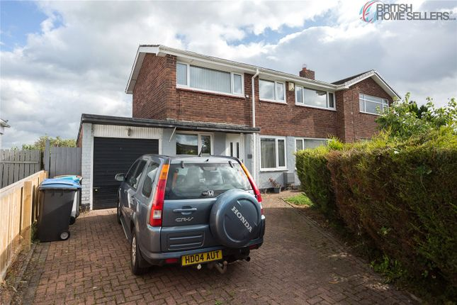 Thumbnail Semi-detached house for sale in Glenmore, Consett