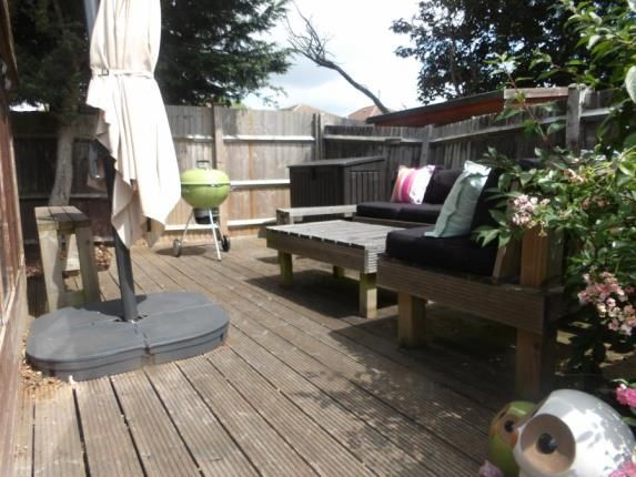 Decking of Fair Acre Rise, Fareham PO14