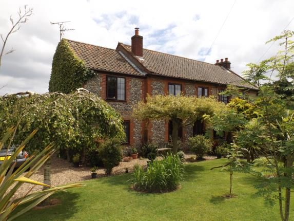 Thumbnail Semi-detached house for sale in Sidestrand, Cromer, Norfolk