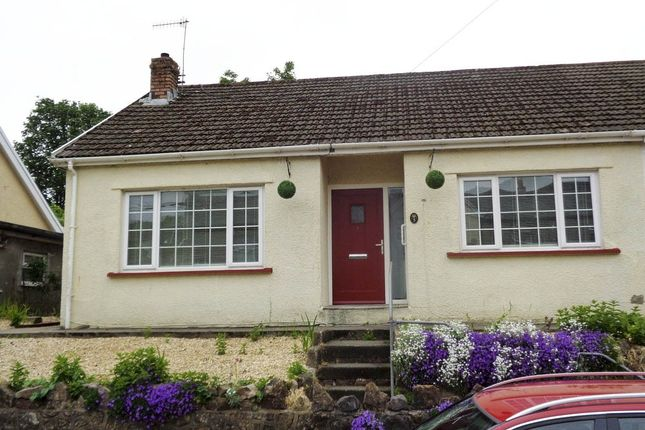 Thumbnail Semi-detached bungalow for sale in Glynfach -, Porth