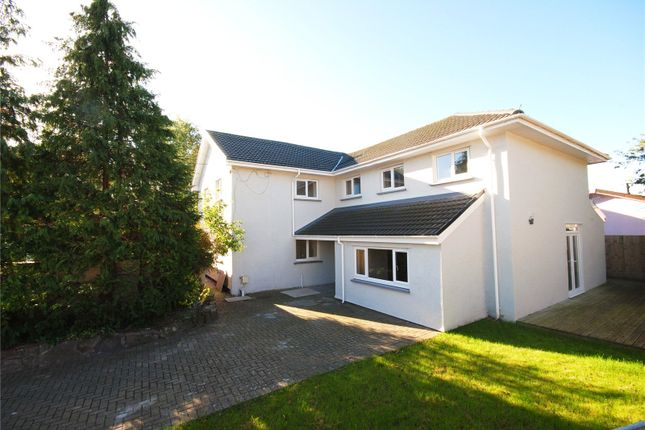 Thumbnail Detached house for sale in Church Road, St Brides