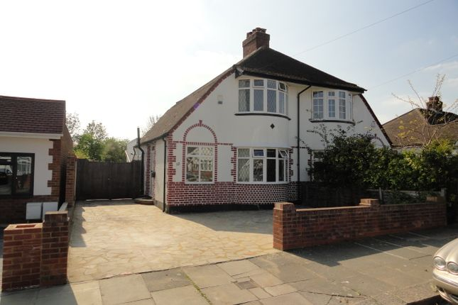 Thumbnail Semi-detached house for sale in Harewood Avenue, Northolt