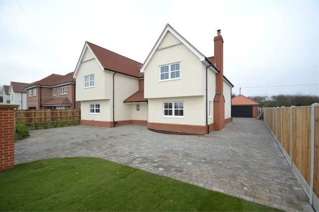 Thumbnail Detached house for sale in Dawnily, Colchester Road, Great Bromley, Essex