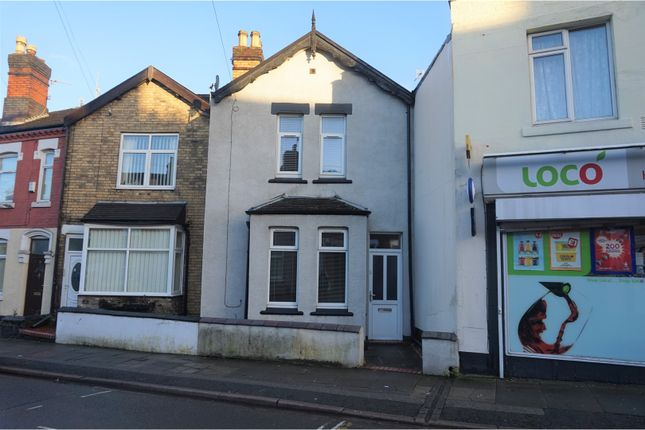 Thumbnail Town house for sale in Heron Street, Heron Cross, Stoke-On-Trent