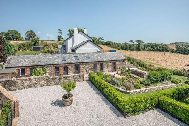 Thumbnail Detached bungalow for sale in Hareston Farm Barns, Near Yealmpton, Devon