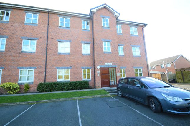 Rear Entrance of Riverside View Apartments, 1 Riverside View, Accrington, Lancashire BB5