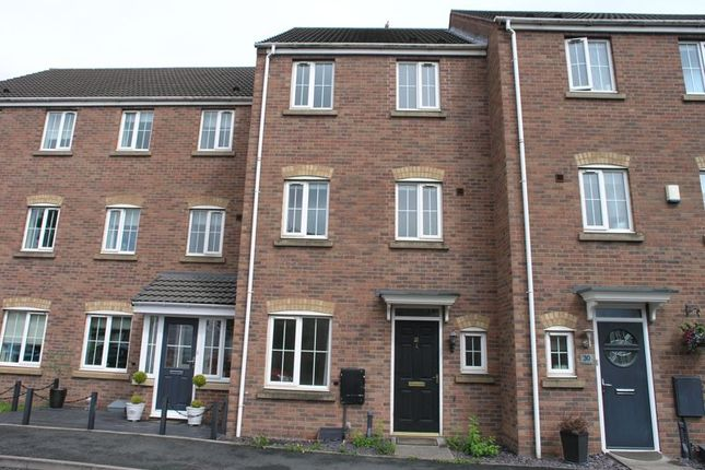 Thumbnail Terraced house to rent in Barrow Close, Walsall Wood, Walsall