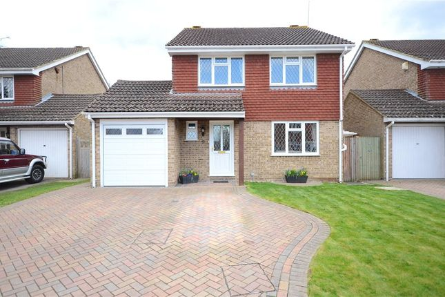 Thumbnail Detached house for sale in Hambledon Close, Lower Earley, Reading