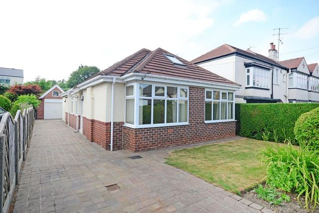 Thumbnail Detached bungalow for sale in Chatsworth Road, Dore, Sheffield