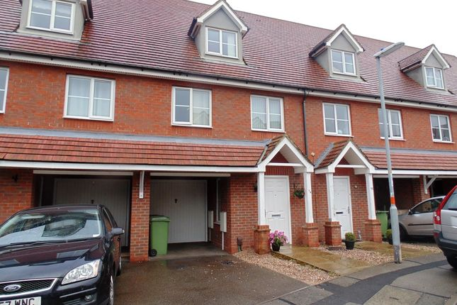 Thumbnail Terraced house for sale in Mansfield Way, Irchester, Wellingborough
