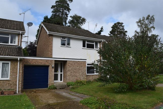 Thumbnail Link-detached house for sale in Dalston Close, Camberley, Surrey