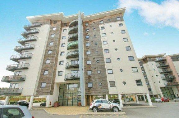 Thumbnail Flat for sale in Alexandria, Victoria Wharf, Watkiss Way, Cardiff
