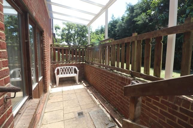 Lower Patio of Sunny Rise, Chaldon, Caterham, Surrey CR3