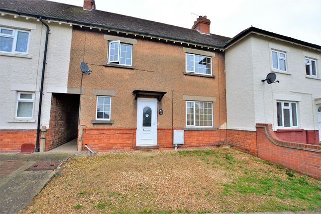 Thumbnail Terraced house for sale in Worcester Crescent, Stamford