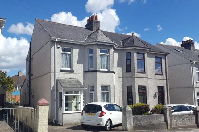 Thumbnail Semi-detached house for sale in West Down Road, Plymouth, Devon