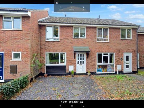 Thumbnail Terraced house to rent in Overcross, Shrewsbury, Shropshire