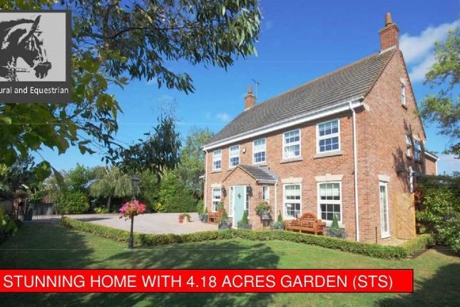 Thumbnail Detached house for sale in North Road, Gedney Hill, South Lincolnshire