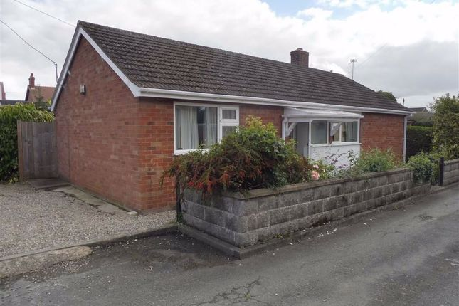 Thumbnail Bungalow for sale in 2, Ashfield Drive, Llanymynech, Powys