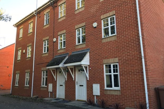 Thumbnail Terraced house to rent in Soane Close, Wellingborough