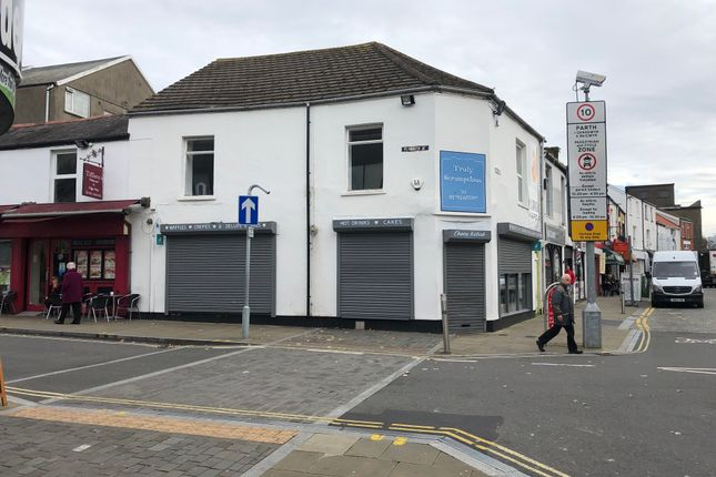 Retail premises to let in Nelson Street, Swansea