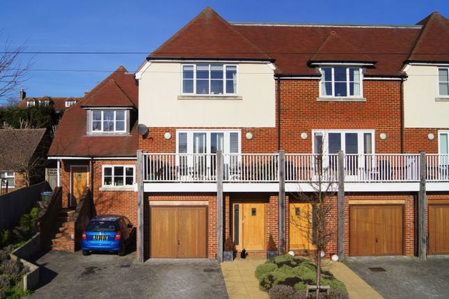 Thumbnail Town house for sale in Arundale Mews, Rivermead, Pulborough