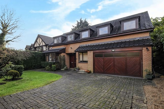 Thumbnail Detached house for sale in Pipers Green Lane, Stanmore Borders