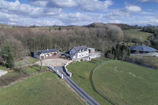 Thumbnail Farmhouse for sale in Uttoxeter Road, Stone