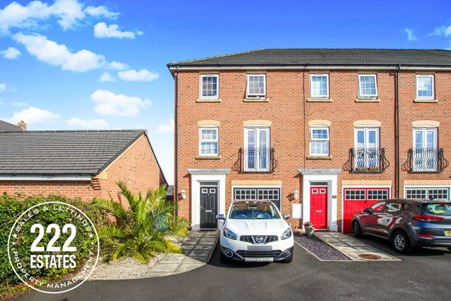 Thumbnail Town house for sale in Chicago Place, Great Sankey, Warrington