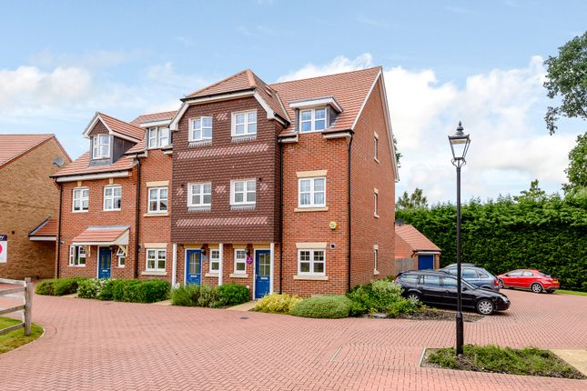 Thumbnail End terrace house for sale in Waterers Way, Bagshot