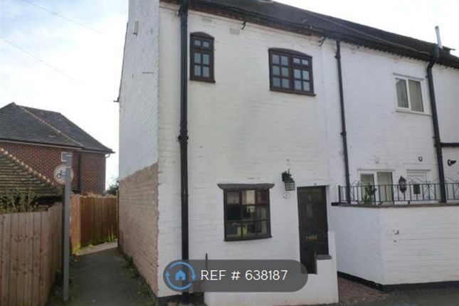 Thumbnail 2 bed terraced house to rent in Park Lane, Littleover, Derby