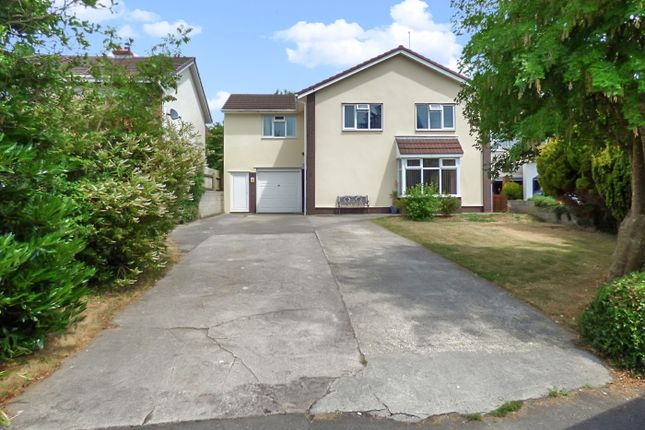 Thumbnail Detached house for sale in The Retreat, Bridgend, Mid Glamorgan